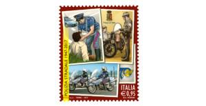 Un francobollo dedicato alla Polizia Stradale nel 70° anniversario dell'istituzione