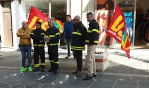 Vigili del Fuoco precari in lotta anche a Vibo Valentia