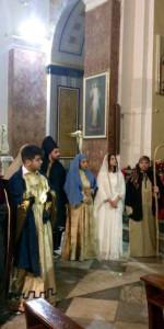 Centinaia di persone al Presepe vivente nell'Antico Borgo di Cirò (17)