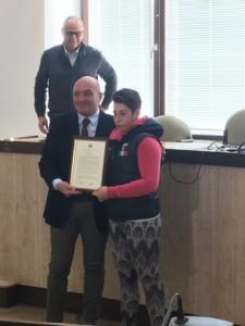 Comune Crotone Pubblica estimazione per la campionessa del mondo di Mma Fabiana Giampà (1)
