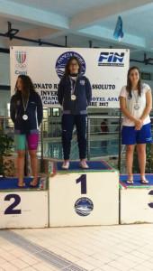 È ancora Ilaria Fonte la più forte nuotatrice calabrese