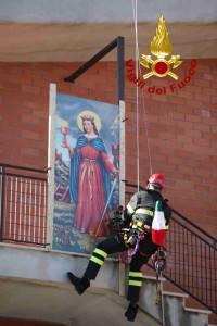 Festività di Santa Barbara, patrona del corpo nazionale dei Vigili del Fuoco (7)