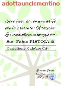 """Gianni Morandi """"Adotta"""" le Clementine di Corigliano Calabro (2)"""