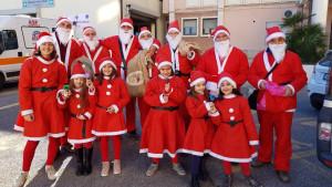 I Babbi Natale Fidelitas per le vie di Corigliano Calabro e Rossano