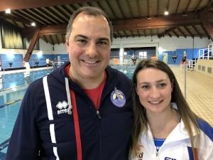 """Nuoto Alessia Scortechini la campionessa mondiale paralimpica a Cosenza per """"Dama"""" (1)"""