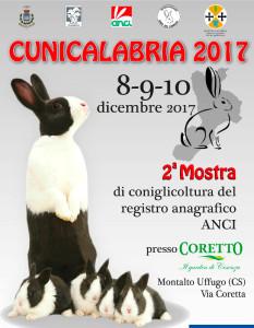 Oggi, gli Allevatori del Sud Italia a Montalto Uffugo per Cunicalabria 2017