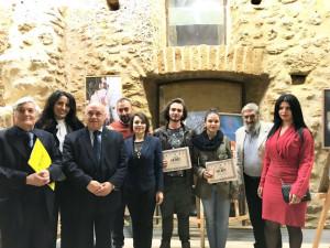 Premio KR ART a Le Castella, convegno TERINA Colonia di Crotone a Cirò Marina e Targa a Mons. Caiazzo (2)