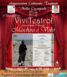 """Rassegna Viviteatro """"Il malato immaginario"""" di Molière, il 26 dicembre nel Teatro di Cariati (2)"""