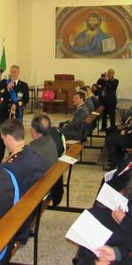 Rossano, Capitaneria di Porto e Vigili del Fuoco insieme per festeggiare Santa barbara con l'arcivescovo (1)