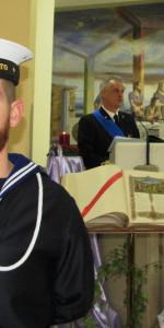 Rossano, Capitaneria di Porto e Vigili del Fuoco insieme per festeggiare Santa barbara con l'arcivescovo (3)