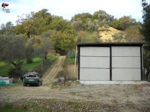 Scoperto capannone rurale abusivo a San Mauro Marchesato (2)