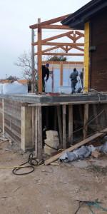 Sequestrato Chiosco in costruzione sulla scogliera di Le Castella (4)