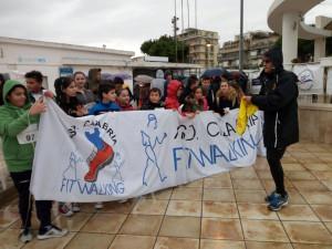 Terza giornata nazionale Liltwalking, in 750 sfidano la pioggia per la camminata della salute a Crotone (2)