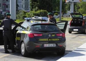 guardia-finanza baschi verdi