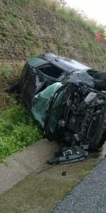 incidente stradale sull'Autostrada del Mediterraneo A2 direzione Nord (3)