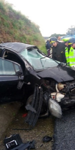 incidente stradale sull'Autostrada del Mediterraneo A2 direzione Nord (4)
