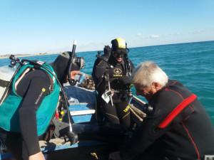 Al via oggi, le prime immersioni di ricognizione subacquea nel tratto di mare antistante Torre Melissa (1)