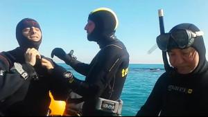 Concluse le prime immersioni nel tratto di mare antistante Torre Melissa svolte dalla Soprintendenza Archeologica