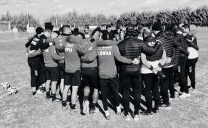 Crotone Calcio- l'allenamento del mercoledì e il saluto dei rossoblù a Giuseppe
