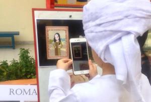 Dubai, A scuola con innovazione- La Gioconda diventa un cartone animato in realtà aumentata