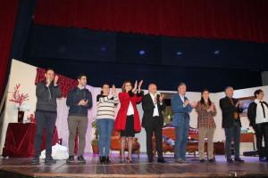 Grande partecipazione e risate del pubblico per la commedia Serata in famiglia a Cariati (1)