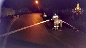 I Vigili del fuoco impegnate per tutta la scorsa notte, per numerosi interventi dovuti alle condizioni meteo (5)