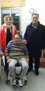 Il primo cittadino di Crosia in visita agli anziani residenti per augurare un buon inizio anno (1)