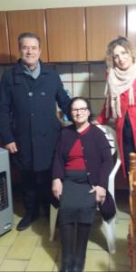 Il primo cittadino di Crosia in visita agli anziani residenti per augurare un buon inizio anno (2)