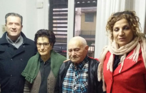 Il primo cittadino di Crosia in visita agli anziani residenti per augurare un buon inizio anno (3)