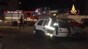 In fiamme due auto nella notte, non si esclude la matrice dolosa (1)