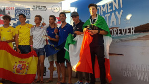 Italiani d'argento e di bronzo al Campionato del Mondo 420 2017 a Fremantle, in Australia (3)