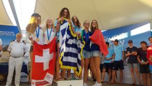 Italiani d'argento e di bronzo al Campionato del Mondo 420 2017 a Fremantle, in Australia (5)