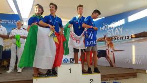 Italiani d'argento e di bronzo al Campionato del Mondo 420 2017 a Fremantle, in Australia (6)