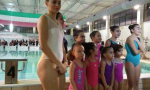 La squadra dei NuotatoriKrotonesi, unica formazione di nuoto sincronizzato in Calabria (1)