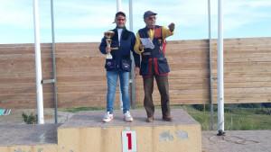 Lello Astorino primo posto alla gara di Tiro a volo nello skeet a Crucoli