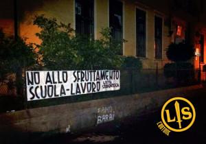 Lotta Studentesca Crotone contro l'Alternanza Scuola-Lavoro