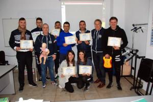 Otto nuovi operatori di Primo Soccorso BLSD con l'utilizzo del defibrillatore formati a Cirò Marina (44)