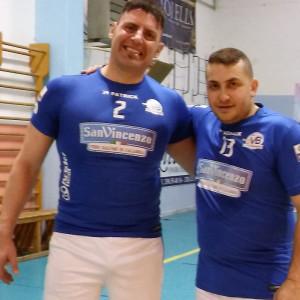 Pallavolo, Coppa Calabria Volley Bisignano vs Paola 2-3 - Eugenio Groccia e Massimo de marco