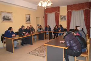 Riunione fra i responsabili dell'Avis Regionale, Provinciale e quelli di Umbriatico (1)
