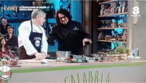 Salvatore Murano lo chef di Cirò Marina a Cuochi d'Italia per la Calabria1 (1)