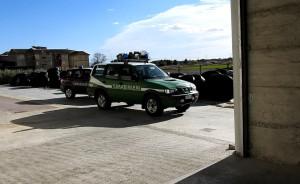 Sequestrato capannone di notevoli dimensioni abusivo a Strongoli - Carabinieri Forestali (2)