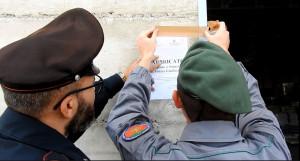 Sequestrato capannone di notevoli dimensioni abusivo a Strongoli - Carabinieri Forestali (3)