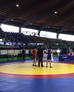 Akc Lotta Olimpica Leonardo Campisi 5° Classificato al Campionato Italiano Cadetti (1)