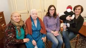 Cinque generazioni in rosa tra Cirò Marina e Melissa
