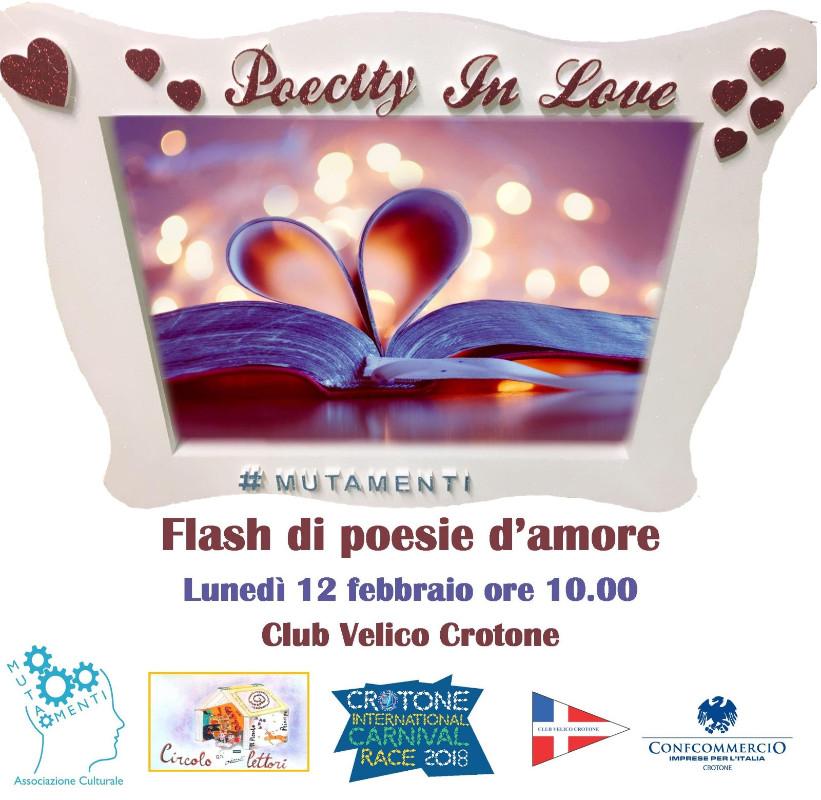 Crotone Poecity In Love Il 12 Febbraio Alla Carnival Race Maratona