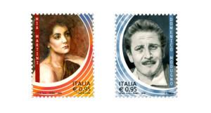 Due Francobolli dedicati a Mia Martini e Domenico Modugno