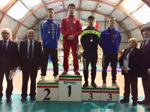 Francesco Cesario Argento -67kg assoluti