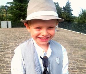 Il piccolo Giuseppe Grano di Mesoraca a soli cinque anni protagonista del video sulla Calabria