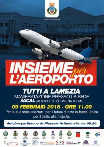 Insieme per l'Aereoporto, il 9 febbraio tutti a Lamezia1