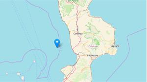 Terremoto, scossa di magnitudo 3.1 nel Mar Tirreno al largo di Amantea, nessun danno